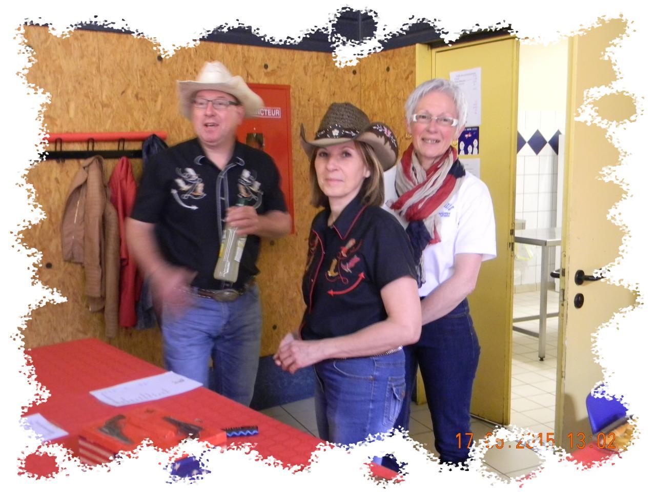 Jean Luc, Nicole et Annette