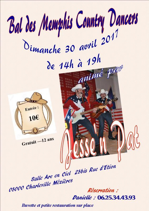 30 avril 2017bal des memphis country dancers