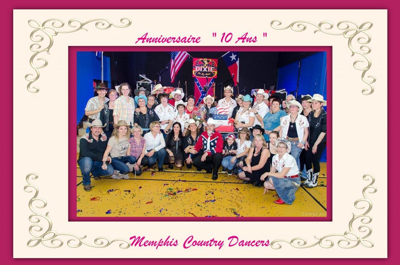 Anniversaire 10 Ans           Memphis Country Dancers