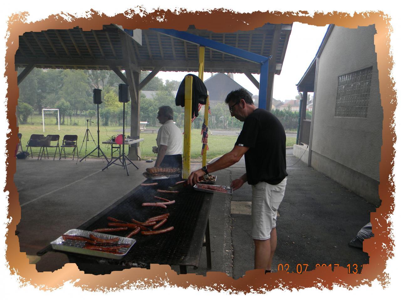Barbecue 2 juillet 2017