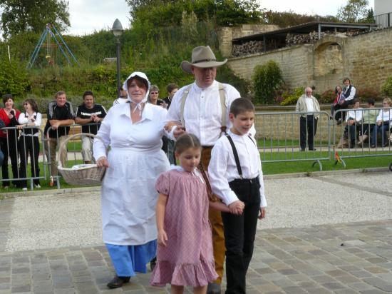 Charles, Caroline et les enfants