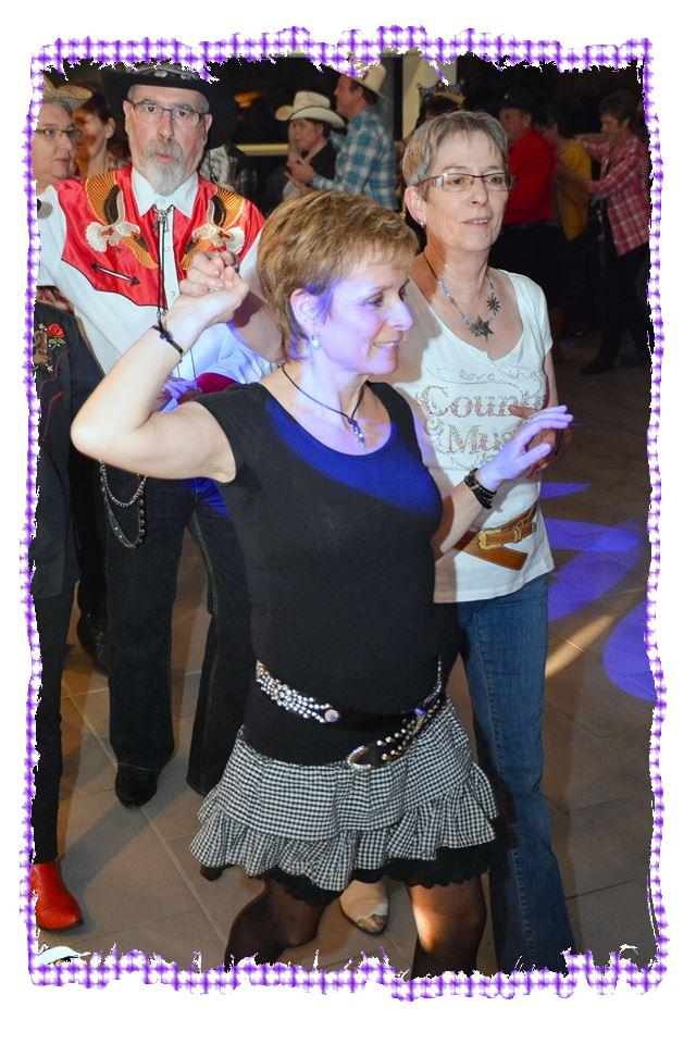 Pascale et Patricia(Country Side Step)